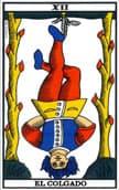tarot de marsella El Colgado