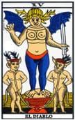tarot de marsella El Diablo